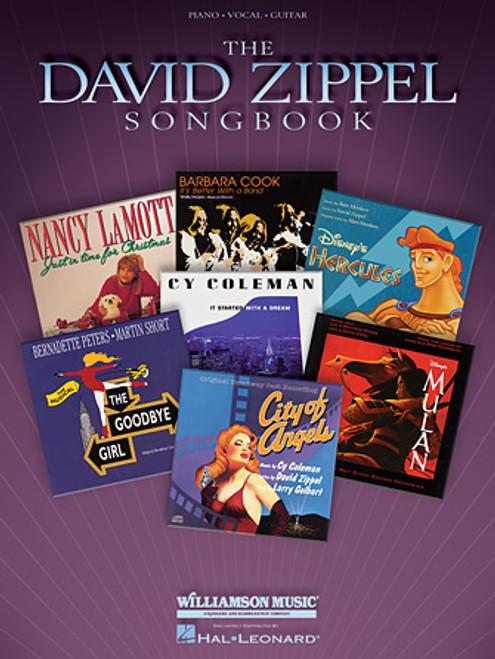 The David Zippel Songbook - Piano / Vocal / Guitar Songbook