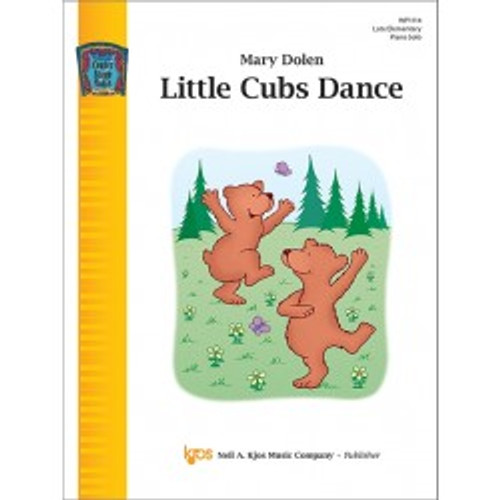 Little Cubs Dance by Mary Dolen (Late Elementary Piano Solo)