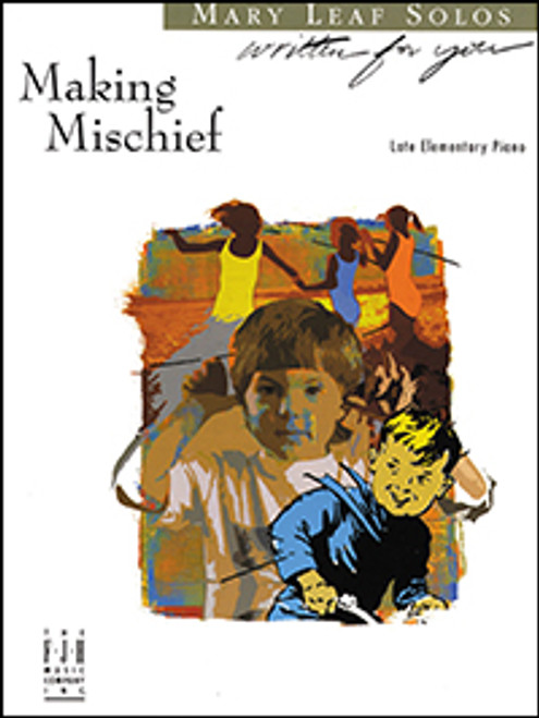 Making Mischief by Mary Leaf (Late Elementary Piano Solo)