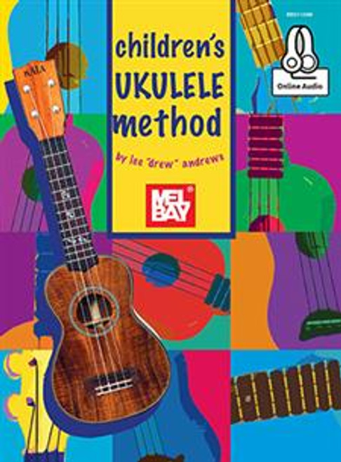 "Children's Ukulele Method by Lee ""Drew"" Andrews - Book / Online Audio"