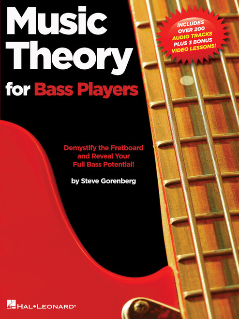 Music Theory for Bass Players (Includes Over 200 Audio Tracks Plus 3 Bonus Lessons) by Steve Gorenberg