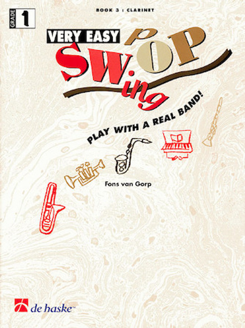 Very Easy Swing Pop for Clarinet - Book 3 (Grade 1) - Book / Accompaniment CD