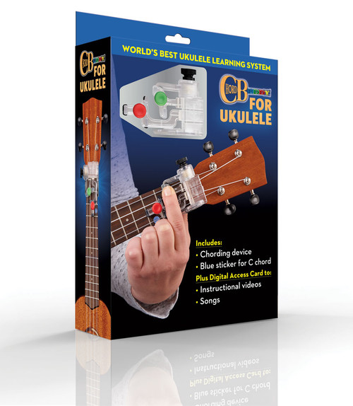 ChordBuddy for Ukulele Learning Package (Includes ChordBuddy for Ukulele device and Digital Access Card for instructional videos and songs)