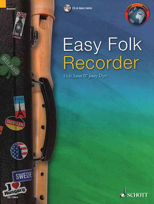 Easy Folk Recorder w/ CD