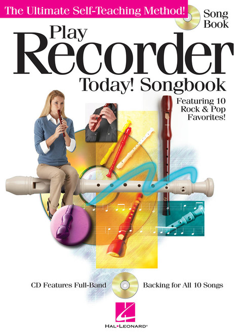 Play Recorder Today! Songbook w/ CD