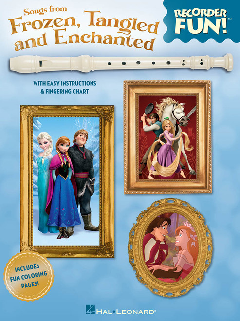 Recorder Fun! - Songs from Frozen, Tangled and Enchanted