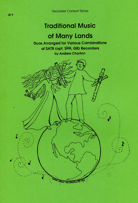 Traditional Music of Many Lands Recorder Duets