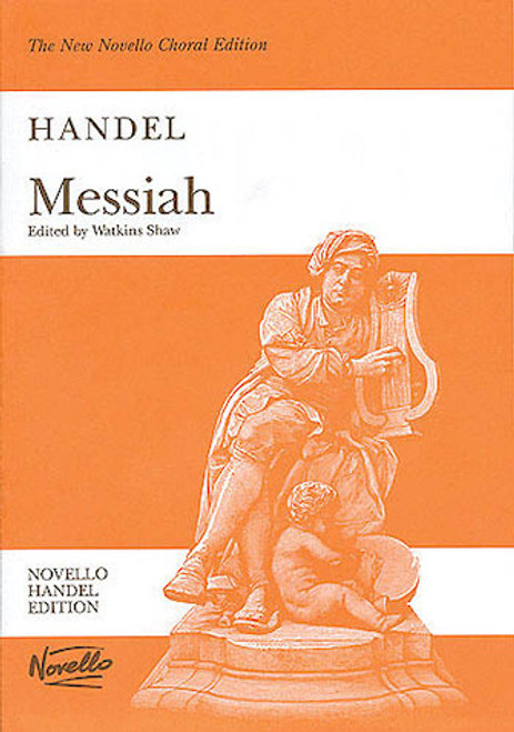 Handel's The Messiah - Vocal Score - New Novello Choral Edition - Large Print