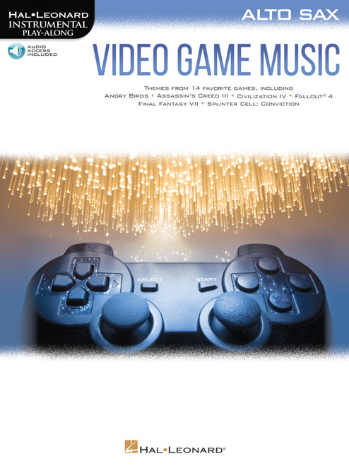 Video Game Music for Alto Saxophone