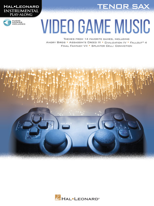 Video Game Music for Tenor Saxophone