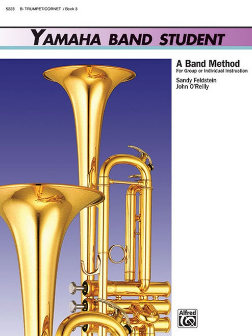 Yamaha Band Student Book 3 - Trumpet