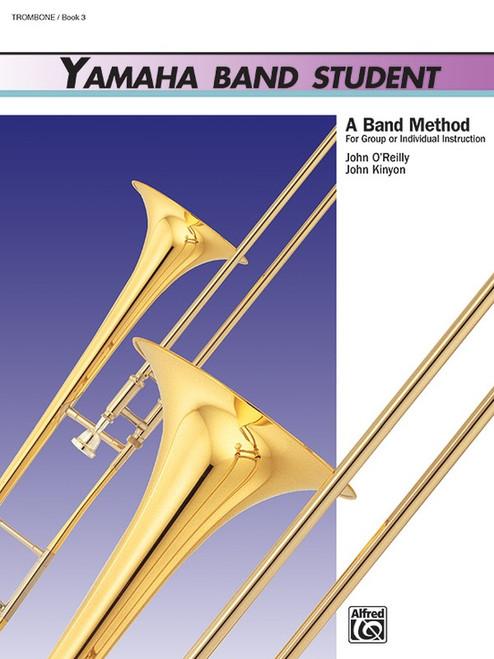 Yamaha Band Student Book 3 - Trombone