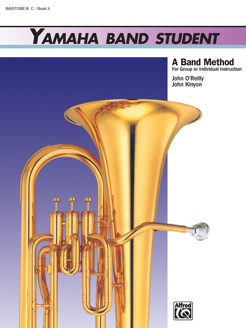 Yamaha Band Student Book 3 - Baritone T.C.