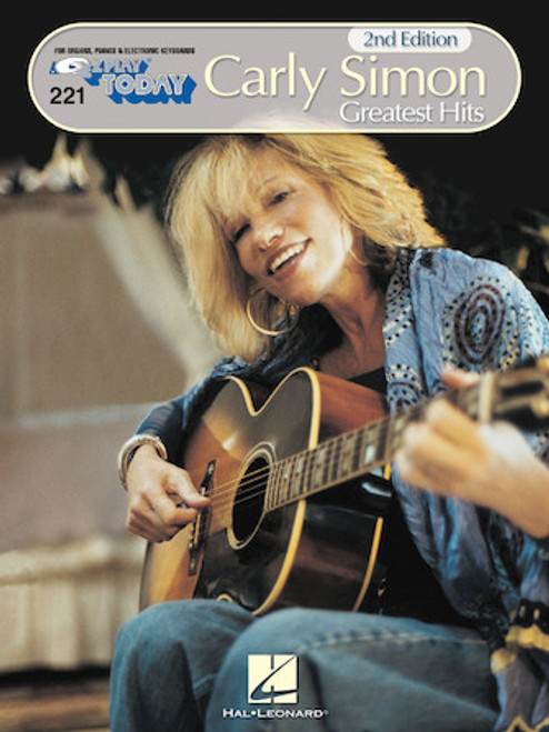 E-Z Play Today #221 - Carly Simon - Greatest Hits