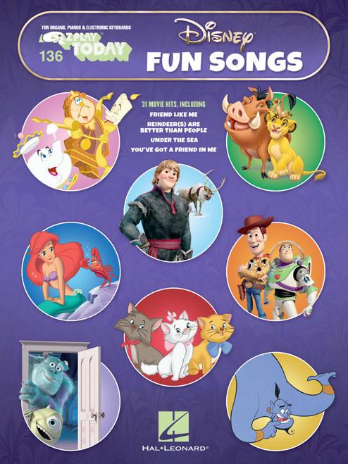 E-Z Play Today #136 - Disney Fun Songs