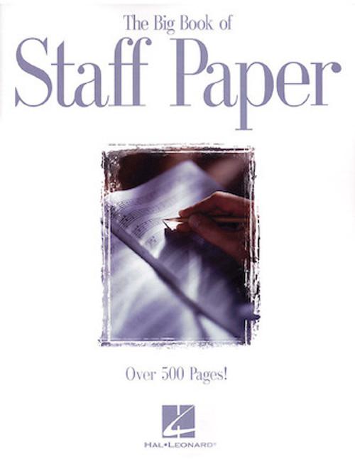 Big Book of Staff Paper