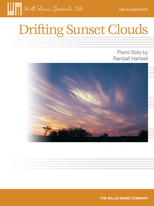 Drifting Sunset Clouds (Mid-Elementary Piano Solo)