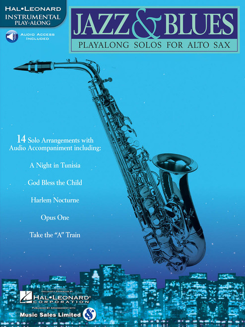 Jazz and Blues: Playalong Solos for Alto Sax