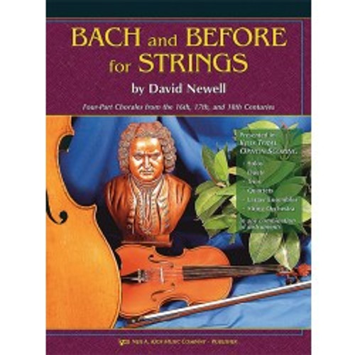 Bach and Before for Strings - Piano Accompaniment