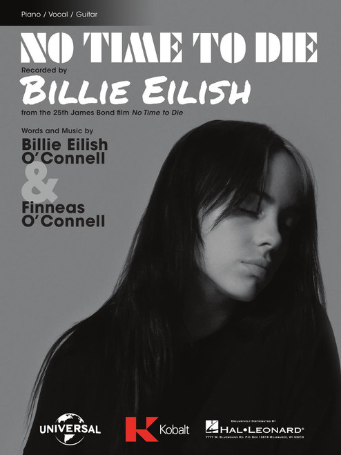 No Time to Die by Billie Eilish - Piano / Vocal / Guitar Sheet Music