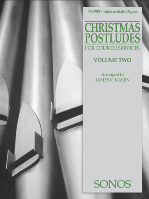 Christmas Postludes for Church Services - Vol. 2