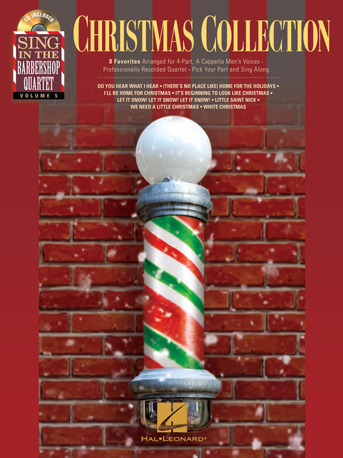Christmas Collection - Sing in the Barbershop Quartet with CD - Vol. 5