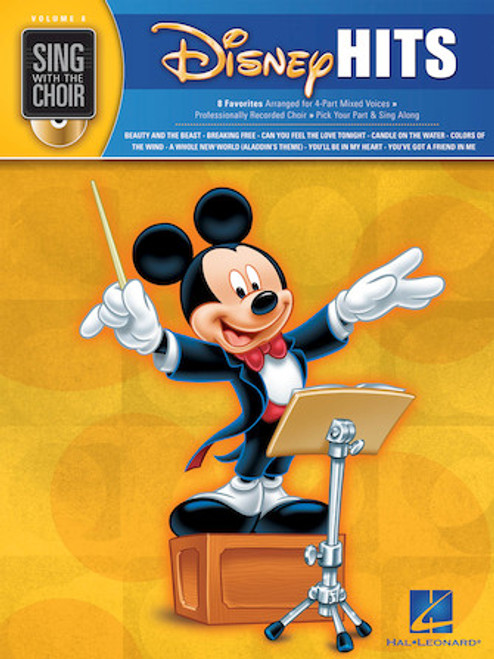Disney Hits - Sing with the Choir with CD - Vol. 8