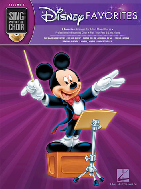 Disney Favorites - Sing with the Choir with CD - Vol. 7