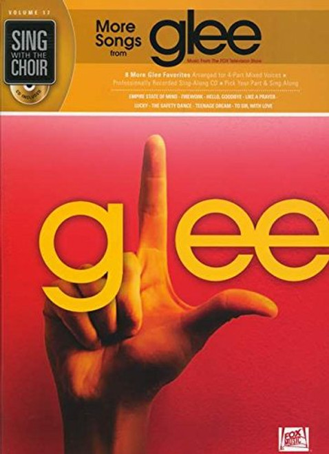 More Songs from Glee - Sing with the Choir with CD - Vol. 17