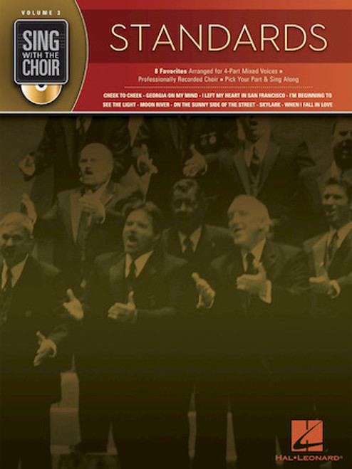 Standards - Sing with the Choir with CD - Vol. 3