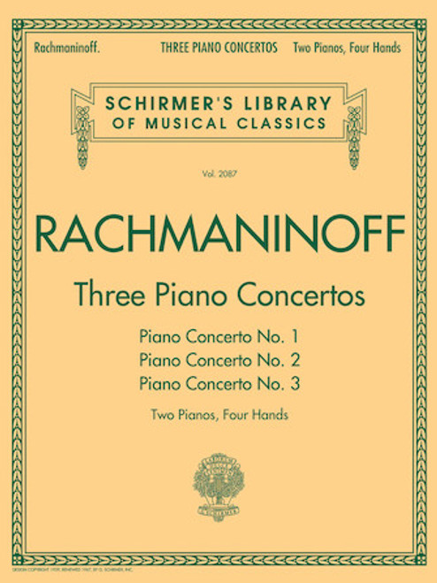 Rachmaninoff - Three Piano Concertos