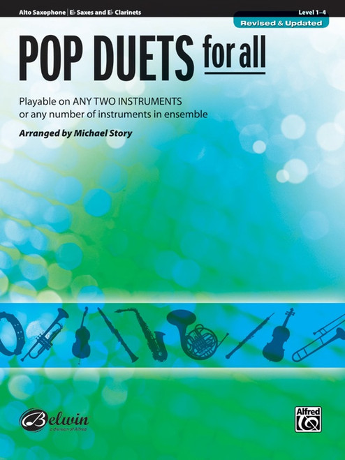 Pop Duets for All - Alto Saxophone
