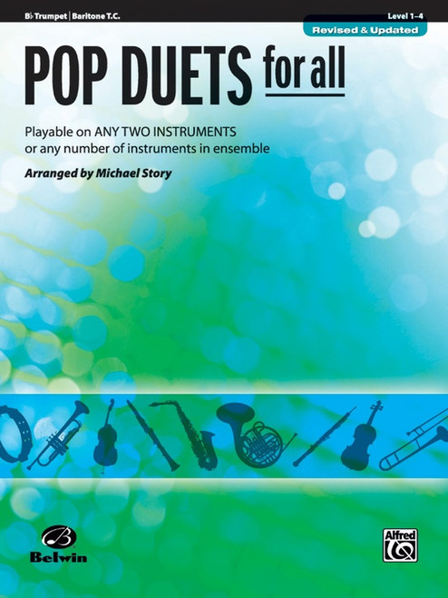 Pop Duets for All - Trumpet & Baritone T.C.