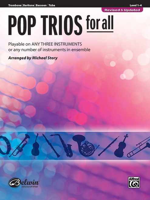 Pop Trios for All (Revised & Updated) - Trombone, Baritone B.C., Bassoon & Tuba