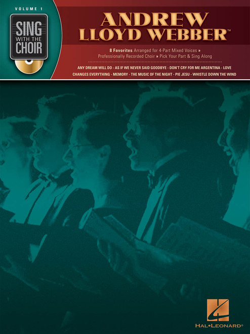 Andrew Lloyd Webber - Sing with the Choir with CD - Vol. 1