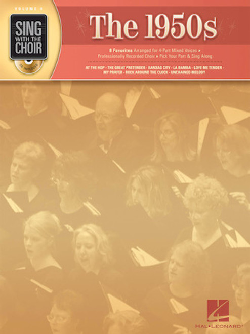 The 1950s - Sing with the Choir with CD - Vol. 4