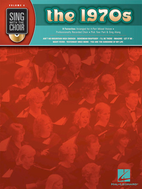 The 1970s - Sing with the Choir with CD - Vol. 6