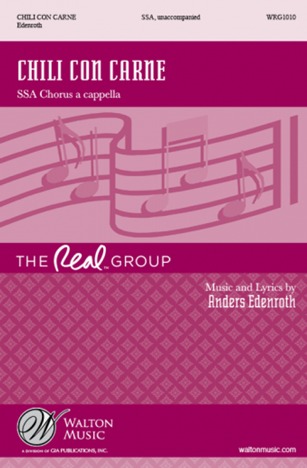 Chli con Carne (by The Real Group) - arr. Edenroth - SSA