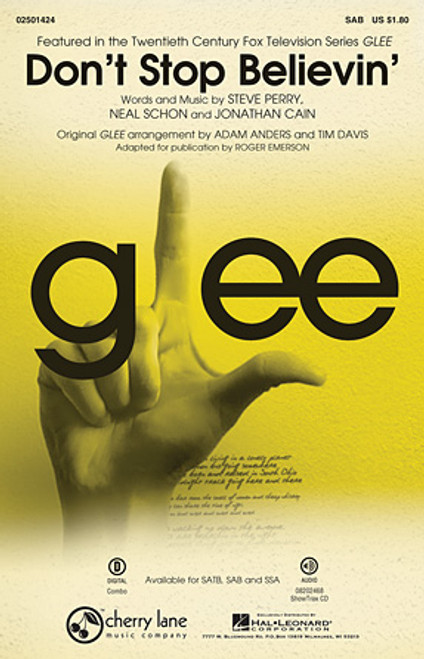 Don't Stop Believin' (from Glee) - SAB