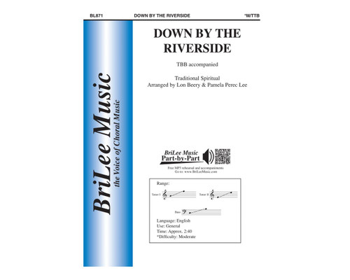 Down By the Riverside - arr. Beery/Lee - TTB
