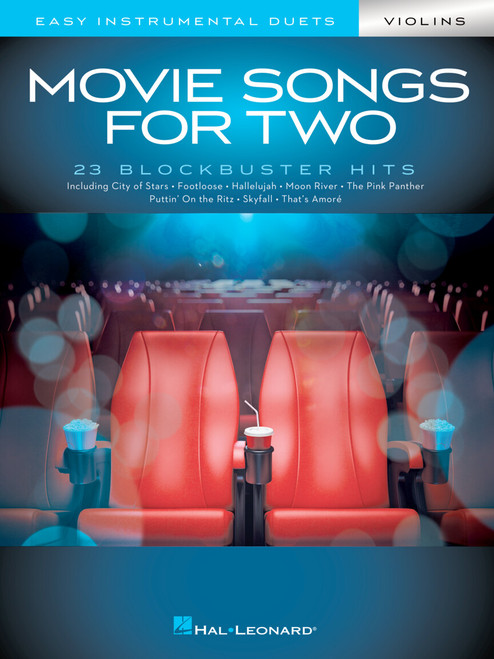 MOVIE SONGS FOR TWO VIOLINS Easy Instrumental Duets