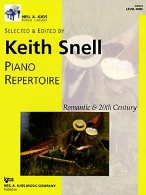Piano Repertoire: Romantic & 20th Century, Level 9 (Keith Snell)