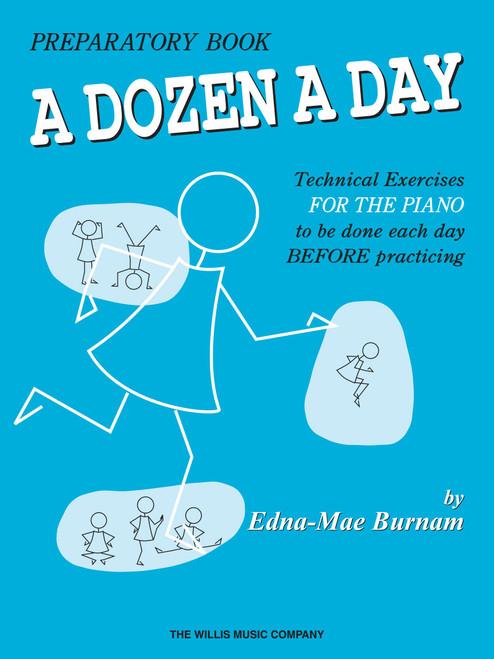 A Dozen a Day - Preparatory Book