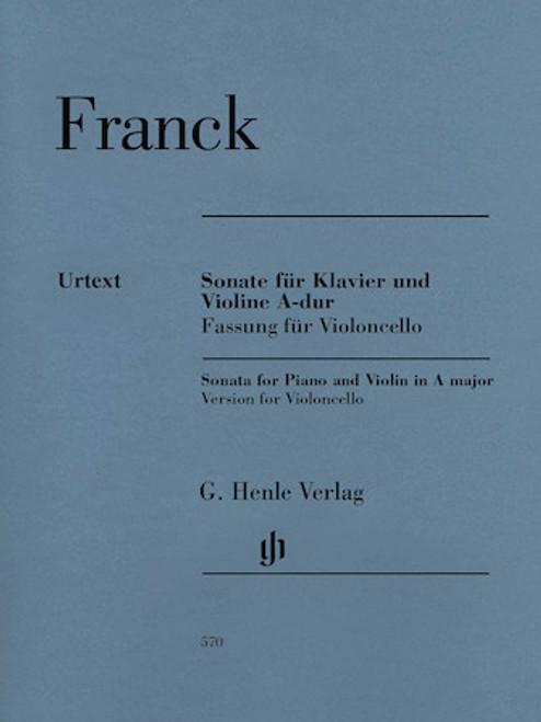 Franck - Sonata for Cello in A Major (with Piano Accompaniment)
