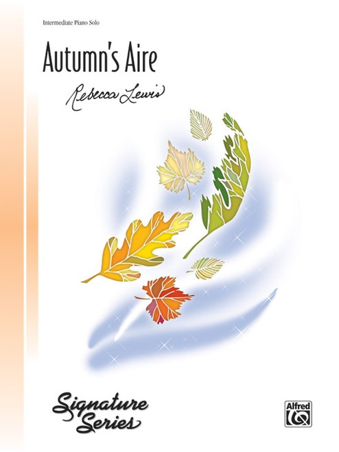 Autumn's Aire arr. Rebecca Lewis (Piano Sheet Level: Intermediate)