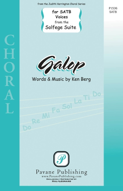 Galop (from Solfege Suite) - arr. Berg - SATB