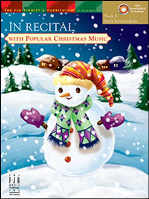In Recital with Popular Christmas Music, Book 4 (Early Intermediate)