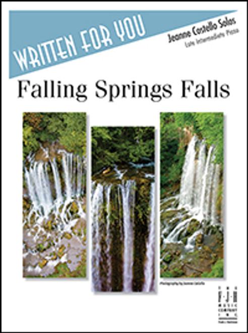 Falling Springs Falls - Late Intermediate Piano