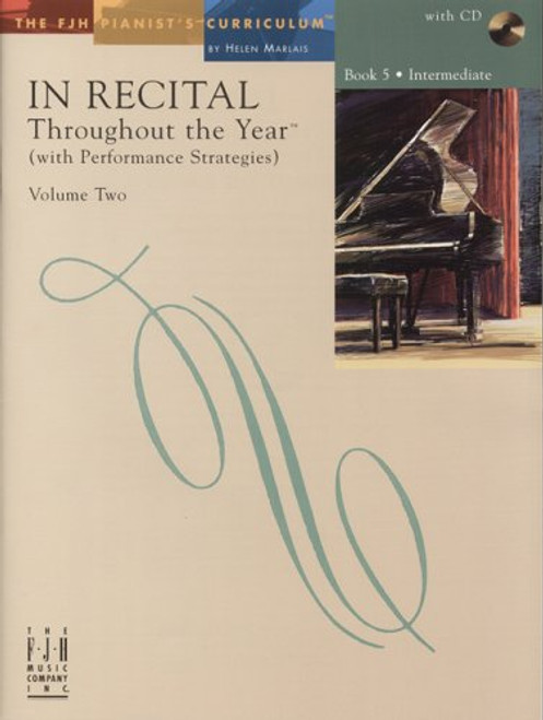 In Recital Throughout the Year Book 5, Volume Two - Intermediate
