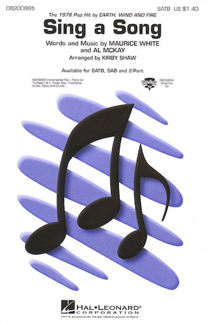 Sing a Song (Earth, Wind and Fire) - SATB